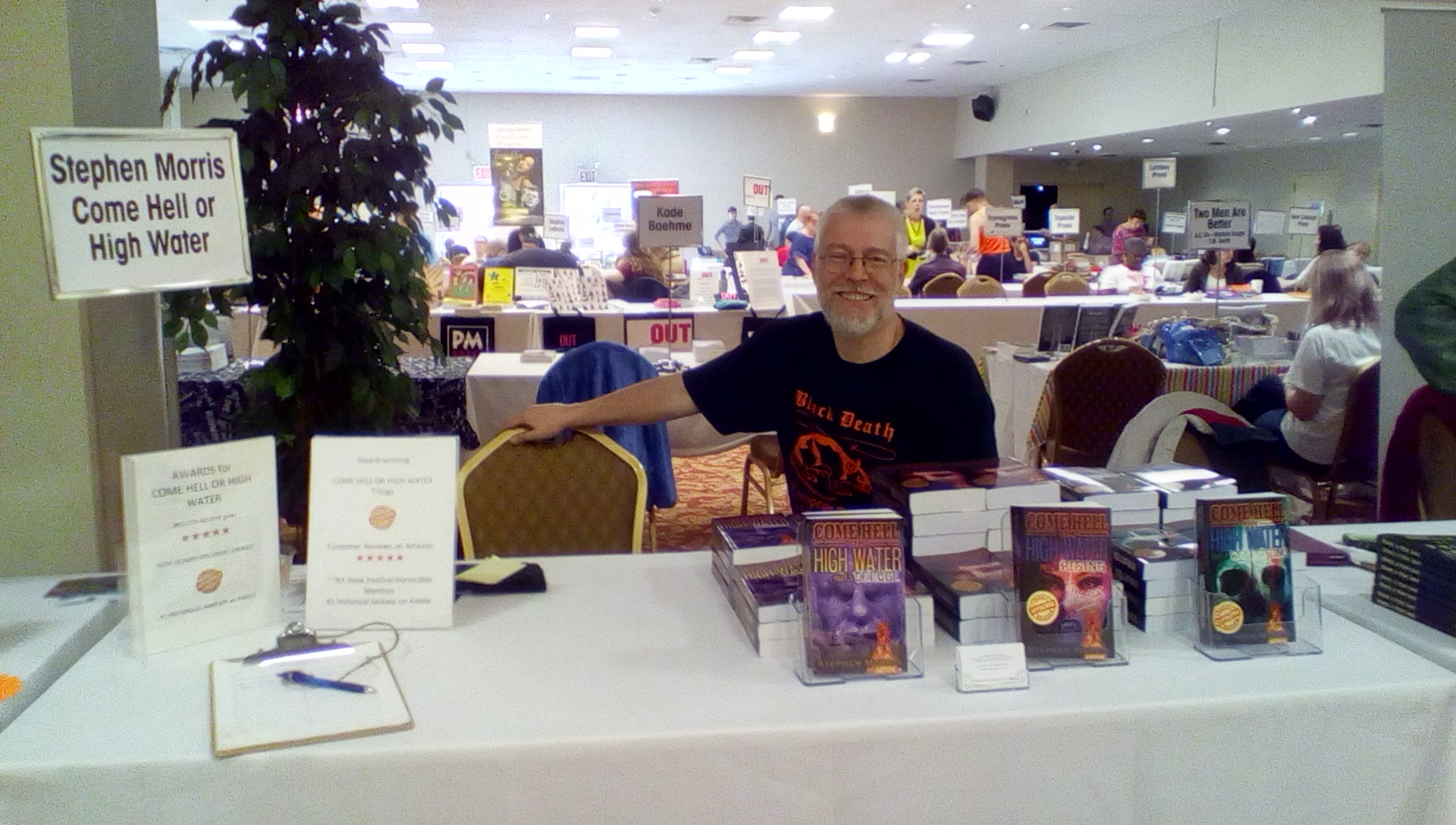 Table #35 at the Rainbow Book Fair on April 18, 2015