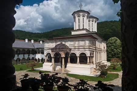 The Monastery of Horezu, a UNESCO World Heritage site in Wallachia, Romania