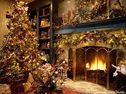 Yule Holiday Scene