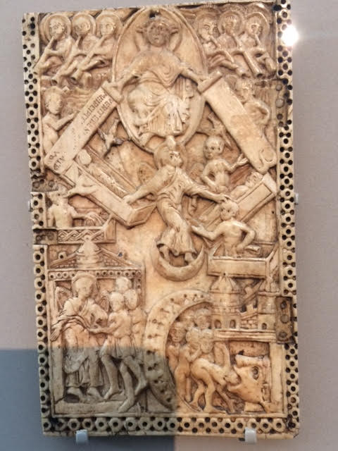 f8618339238d21 This ivory shows Christ enthroned in glory as Judge of the living and the  dead at the Last Day. The dead of all generations are rising from their  graves as ...